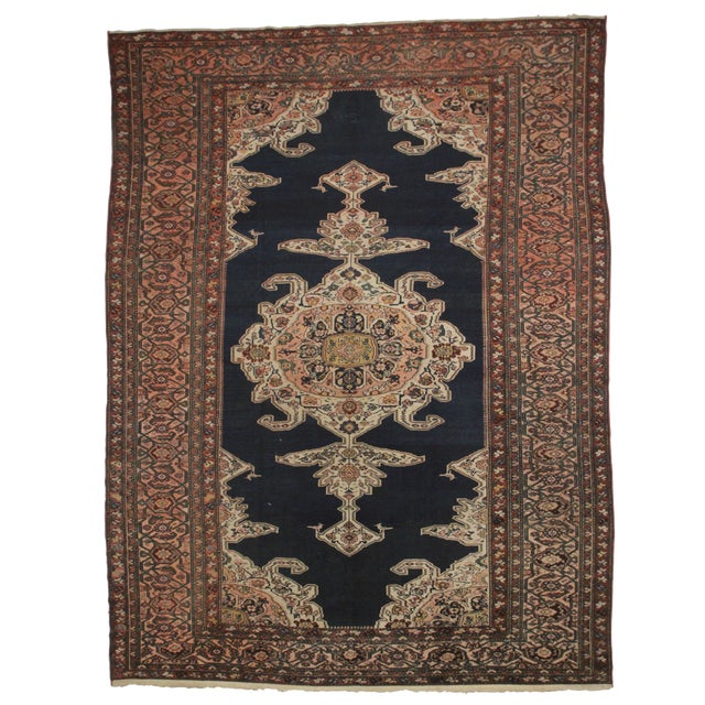 RugsinDallas Persian Hand Knotted Wool Hamedan Rug- 11′8″ × 15′6″ - Image 1 of 2