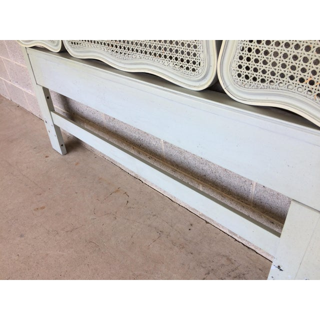 Hickory White French Provincial Queen/ Double Headboard - Image 6 of 8