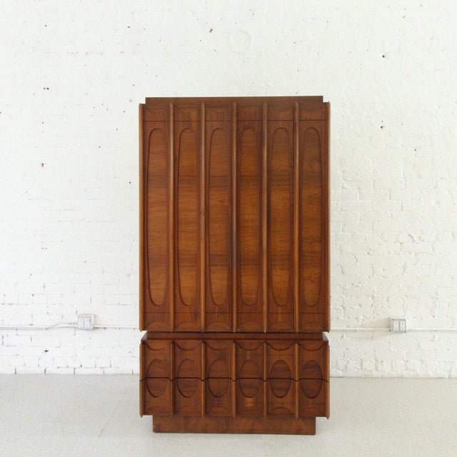 Great armoire for a great studio, plenty of storage for your fashion threads.