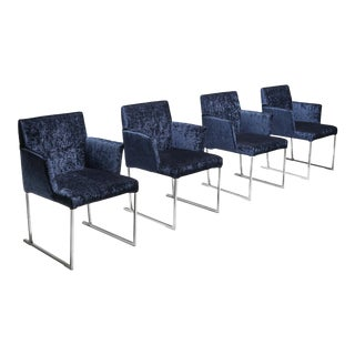 Solo Chairs by Antonio Citterio for Maxalto, Set of Four For Sale