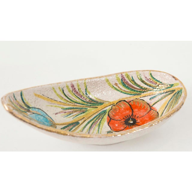Fanciullacci / Londi Gilded Floral Bowl - Image 4 of 7