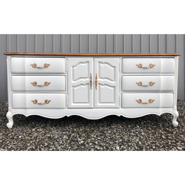 1970s Hibriten Country French Dresser For Sale - Image 10 of 10