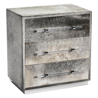 Interlude Home Cassian 3 Drawer Occasional Chest For Sale