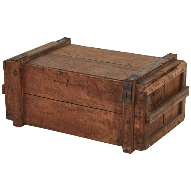 Late 19th Century 19th Century Rustic Chest as a Coffee Table For Sale - Image 5 of 5
