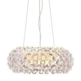 Caboche Style Acrylic Chandelier For Sale