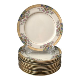 "1920's Lenox ""The Orchard"" Salad Plates - Set of 12 For Sale"
