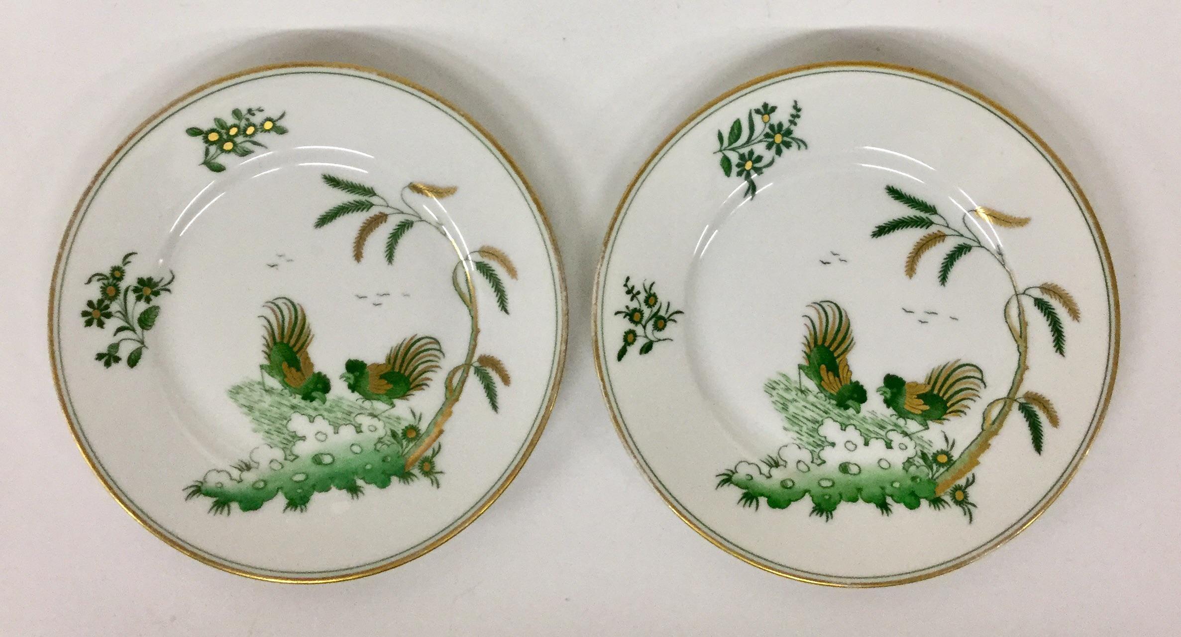 Richard Ginori Porcelain Plates - a Pair - Image 7 of 11  sc 1 st  Chairish & Richard Ginori Porcelain Plates - a Pair   Chairish