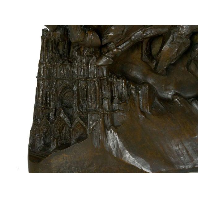 """The Four Horsemen of the Apocalypse"" Bronze Sculpture by Lee Oscar Lawrie (German/American, 1877-1963) For Sale - Image 10 of 13"