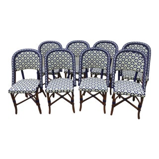 Howard Kaplan Breakfast Room Bistro Chairs - Set of 8