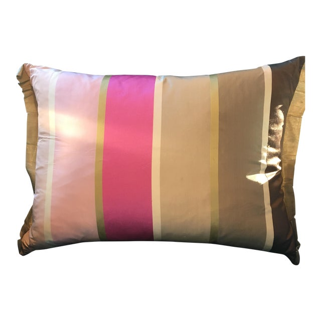 Designers Guild Striped Pillow For Sale