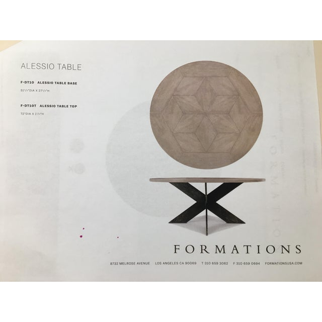 Formations Formations Alessio Dining Table For Sale - Image 4 of 5