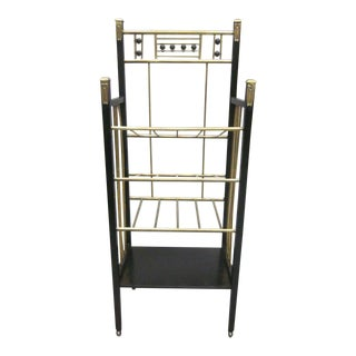Viennese Secession Etagere / Magazine Stand in the Style of Koloman Moser For Sale