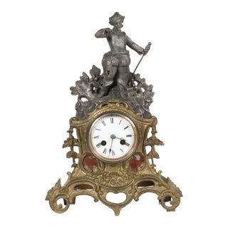 C.1890 French Mantle Clock For Sale