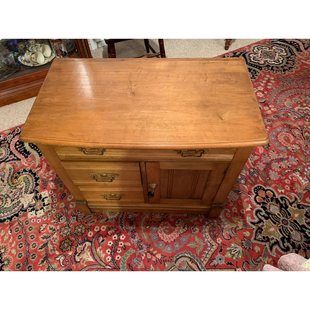 Antique Miniature Commode by Williamsport Furniture Company Pa. For Sale - Image 4 of 9