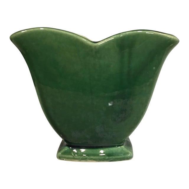 Mccoy Green Vase Chairish