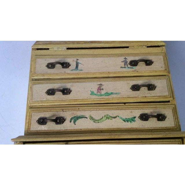 Vintage Wooden Jewelry Chest - Image 6 of 11