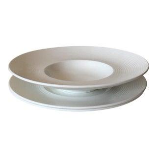Villeroy & Boch Sedona White Premium Porcelain Plates - Set of 3