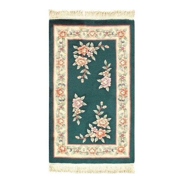 "Pasargad Chinese Art Deco Area Rug - 3'1"" × 5'1"" For Sale"
