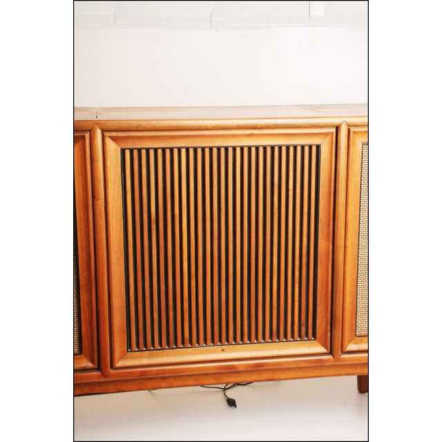 Drexel Mid-Century Modern Record Console Credenza For Sale - Image 11 of 11