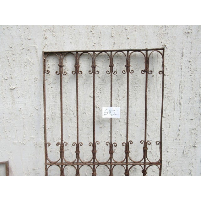 Antique Victorian Iron Gate For Sale - Image 4 of 6