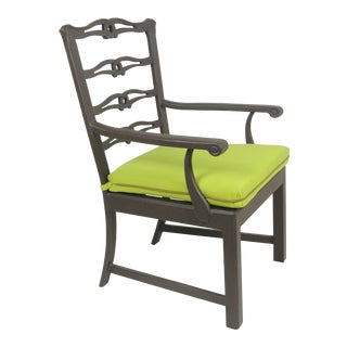 Arlington Dining Chair & Custom Fit Cushion For Sale