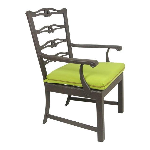 Arlington Dining Chair & Custom Fit Cushion For Sale