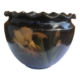 Antique Early 20th Century Art Pottery Jardiniere in the Rockwood Style For Sale