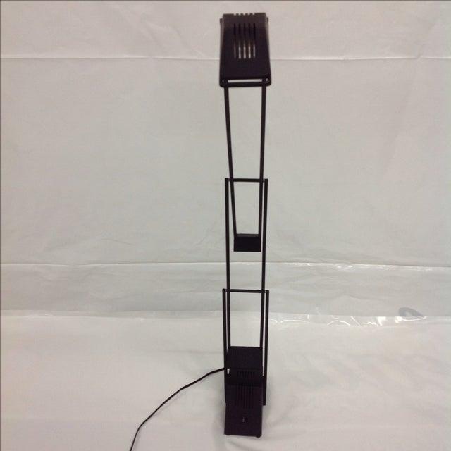 Black Modernist Kinetic Balance Lamp - Image 3 of 7