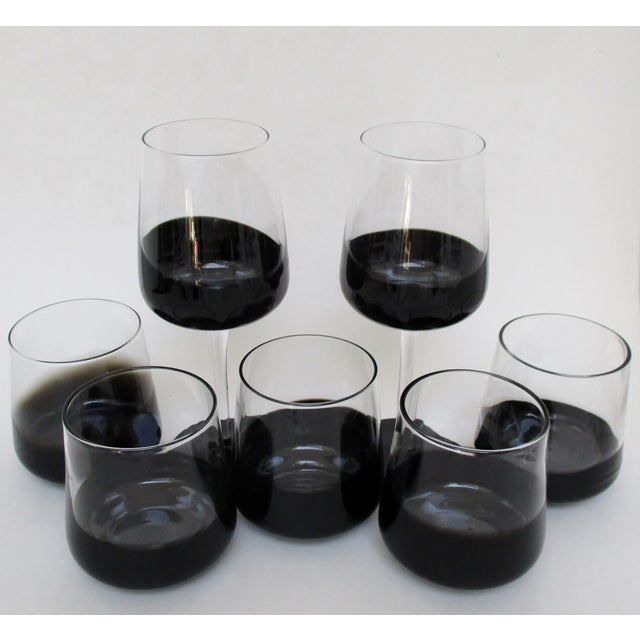 Black Dipped Glassware - Set of 14 - Image 8 of 8
