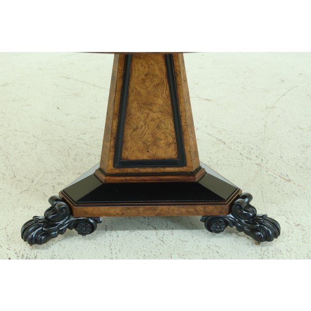 Item: 31722EC: BAKER Stately Homes NeoClassical Round Center Table Age: Approx: 25 Years Old Details: Stately Homes...