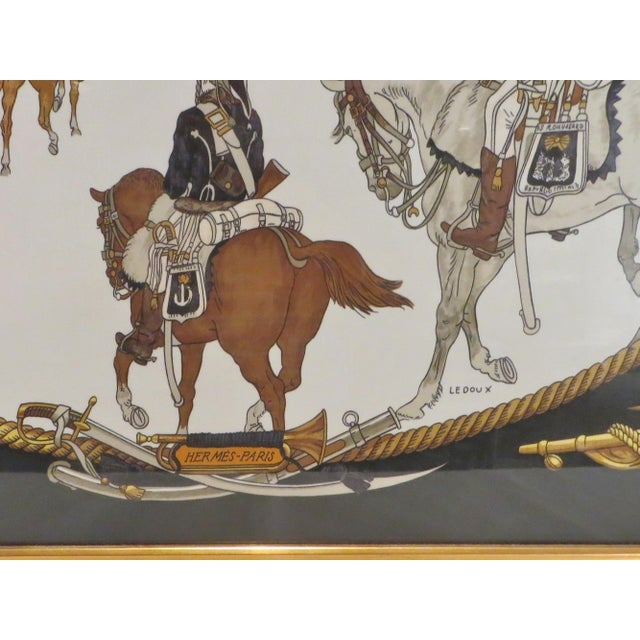 Hermes French Vintage Scarf For Sale - Image 9 of 11