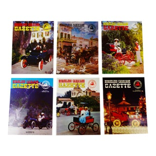 Horseless Carriage Gazette Magazines - 1968 Full Year - Collectible