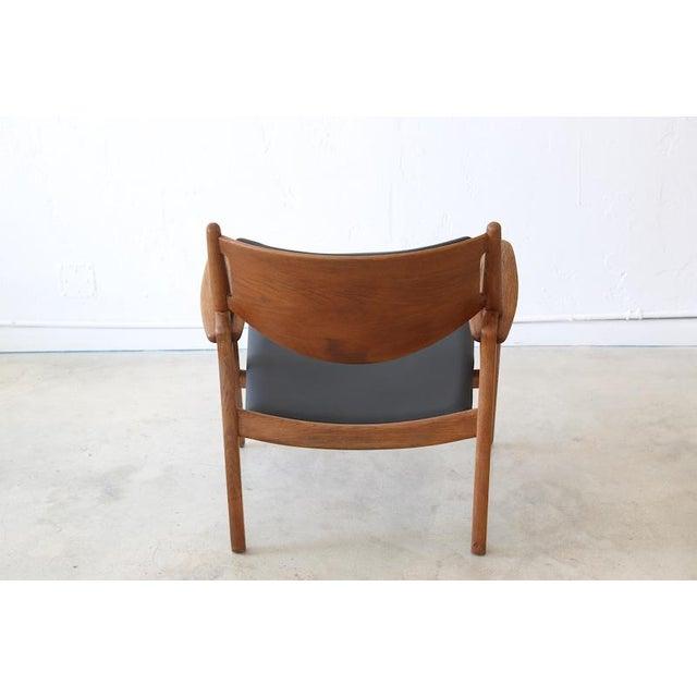Danish Modern Hans J. Wegner Danish Modern Sawbuck Chair Ch28 For Sale - Image 3 of 9