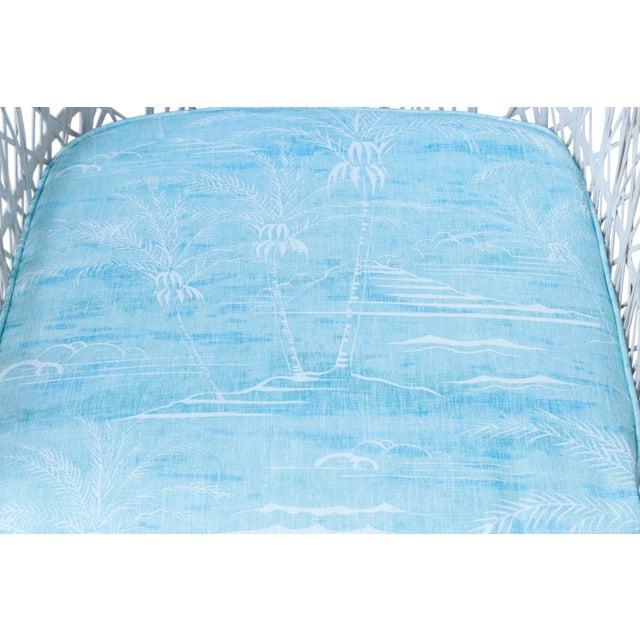 Kravet Upholstered Russell Woodard Spun Fiberglass Patio Dining Set For Sale - Image 12 of 13
