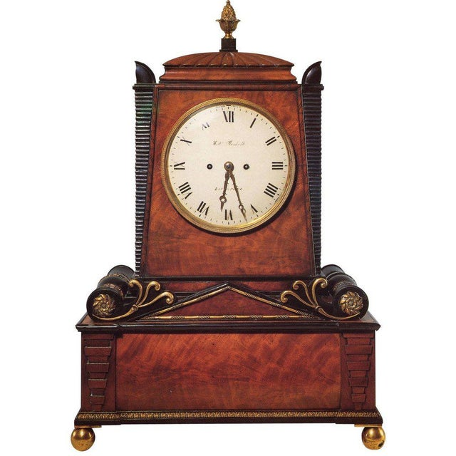 Regency Period Musical Clock Attributed to Bullock For Sale - Image 10 of 10