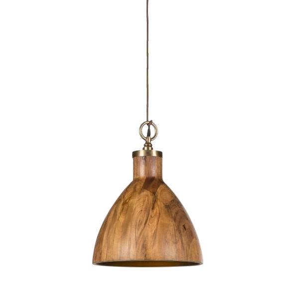 Contemporary Wooden Big Sur Pendant Light For Sale