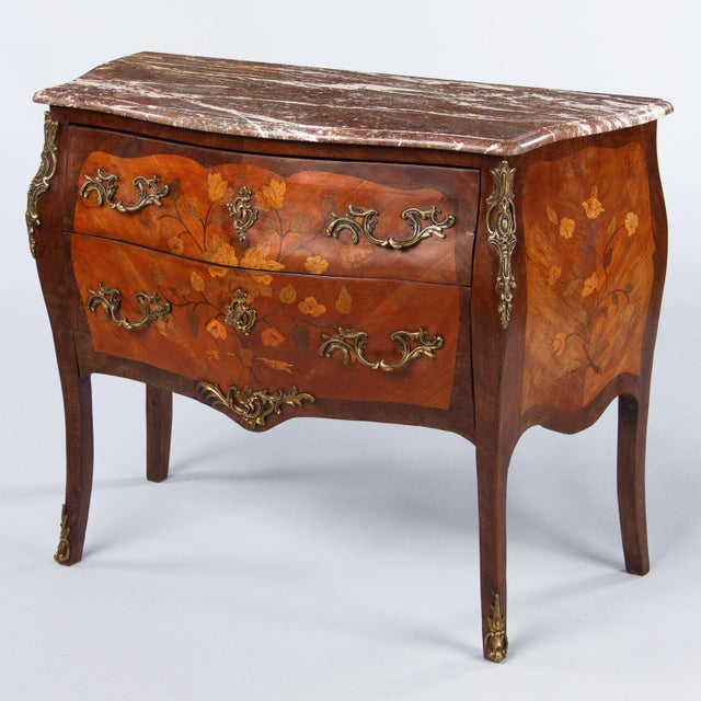 French Louis XV Style Two-Drawer Commode - Image 2 of 10