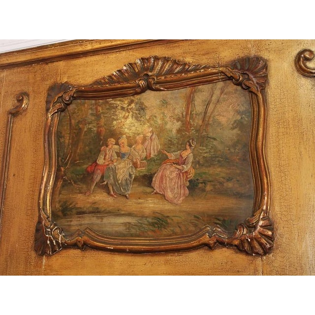 Antique French Painted Trumeau - Image 2 of 6