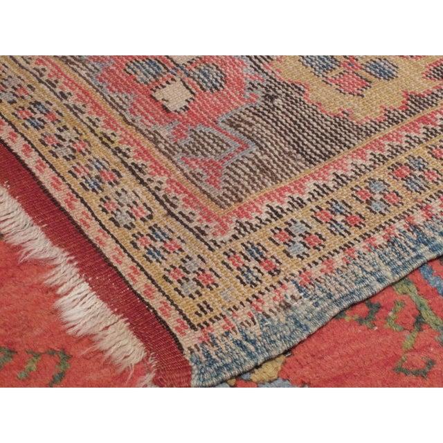 Cotton Antique Dazkiri Rug For Sale - Image 7 of 8