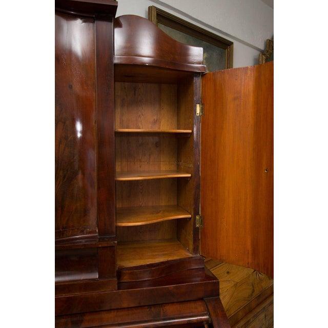19th Century Danish Biedermeier Bureau Secretary Desk - Image 9 of 10