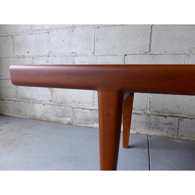 Mid-Century Modern Mid-Century Modern Teak Coffee Table With Cubbies For Sale - Image 3 of 7