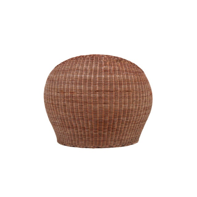 Isamu Kenmochi Rattan Lounge Chair For Sale In Boston - Image 6 of 13