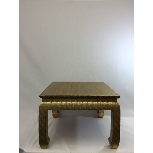 Gold Ming Foot Small Table - Image 2 of 5