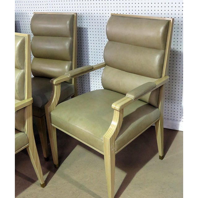 Set of 6 Mid Century Modern Dining Chairs For Sale - Image 4 of 9