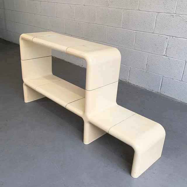 Kay Leroy Ruggles Modular Umbo Console Shelf Unit Bookcase For Sale - Image 4 of 10