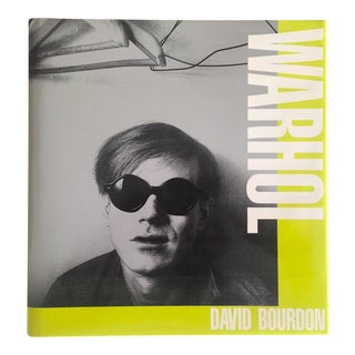 """"""" Warhol """" Vintage 1989 Rare 1st Edtn Iconic Volume Collector's Hardcover Art Book"""