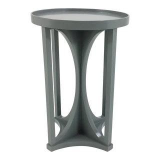 Henredon D. Kilenberg Gray Emery Accent Table For Sale