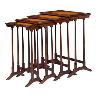 English Quartetto Nesting Tables For Sale