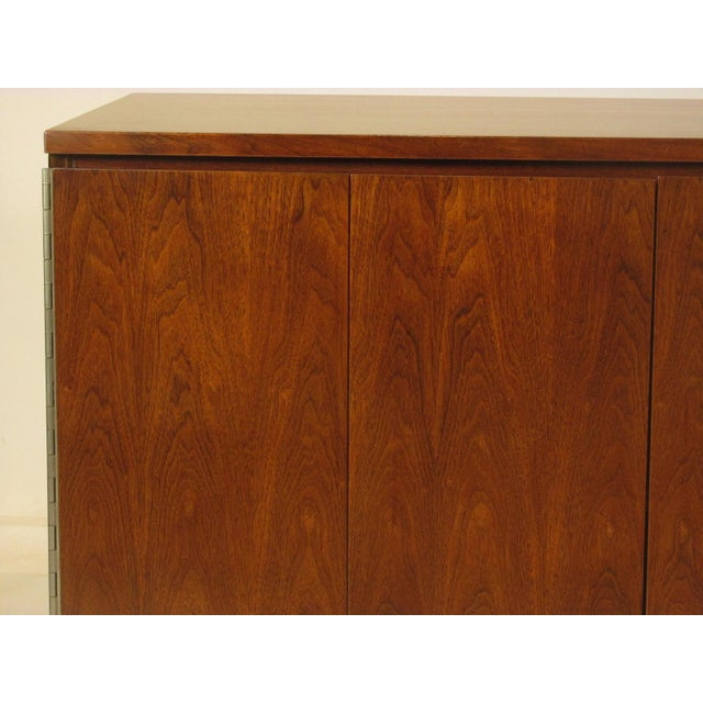 1950s 1950's Mid Century Walnut Server by Paul McCobb For Sale - Image 5 of 11