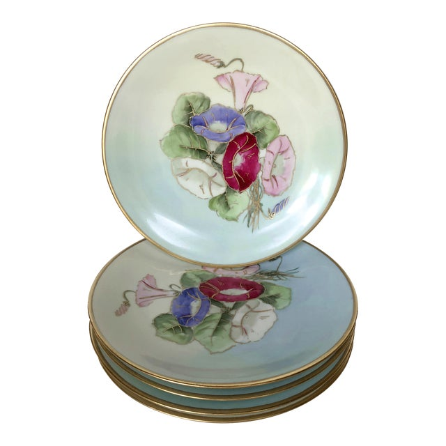 19th Century Limoges Plates - Set of 5 For Sale